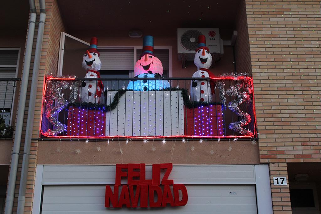Decorar El Balcon En Navidad.Ii Concurso Navideno Para Decorar Fachadas Los Ganadores